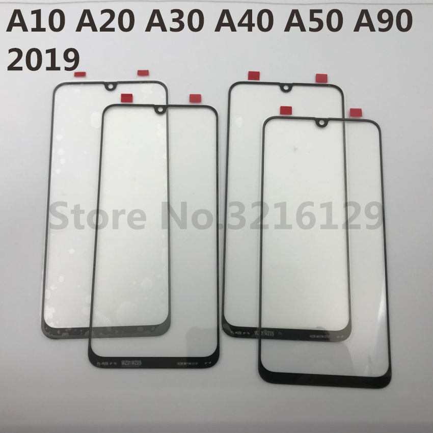 Image 3 - For Samsung Galaxy A10 A20 A30 A40 A50 A60 A70 A80 A90 M10 M20 M30 Original LCD Touch Screen Front Outer Glass Panel Replacement-in Phone Screen Protectors from Cellphones & Telecommunications