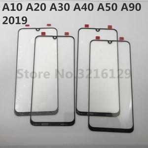 Image 3 - Pour Samsung Galaxy A10 A20 A30 A40 A50 A60 A70 A80 A90 M10 M20 M30 Original Décran Tactile DAFFICHAGE À CRISTAUX LIQUIDES Extérieur Avant Remplacement de Panneau de Verre