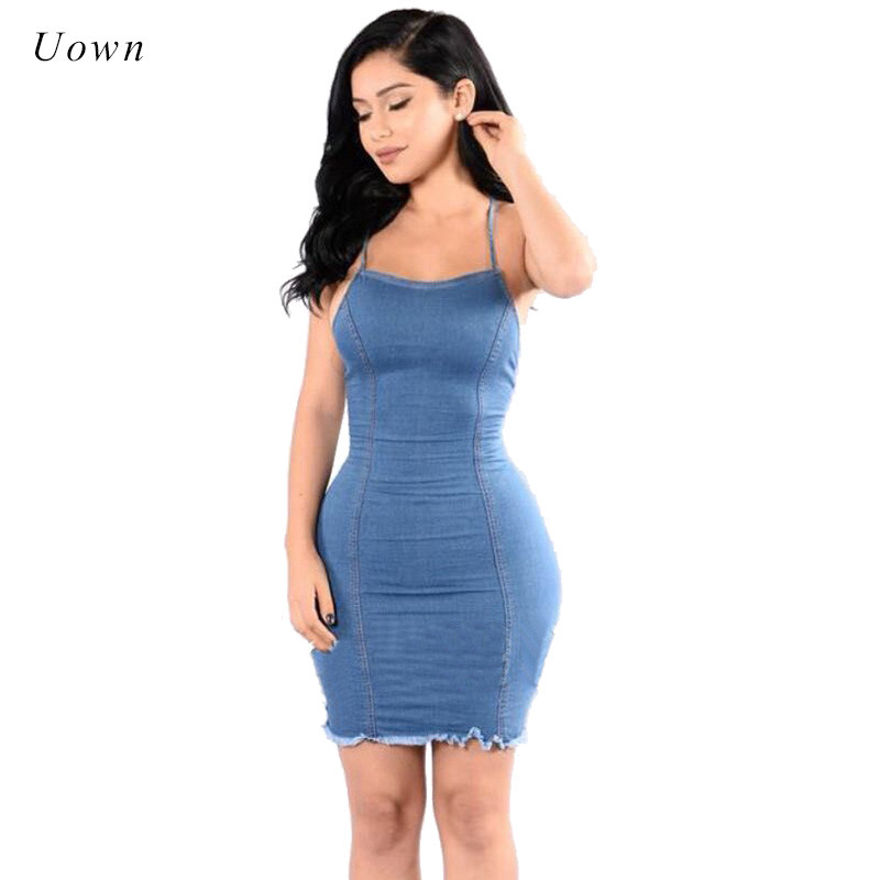 online get cheap fitted jean dress aliexpresscom