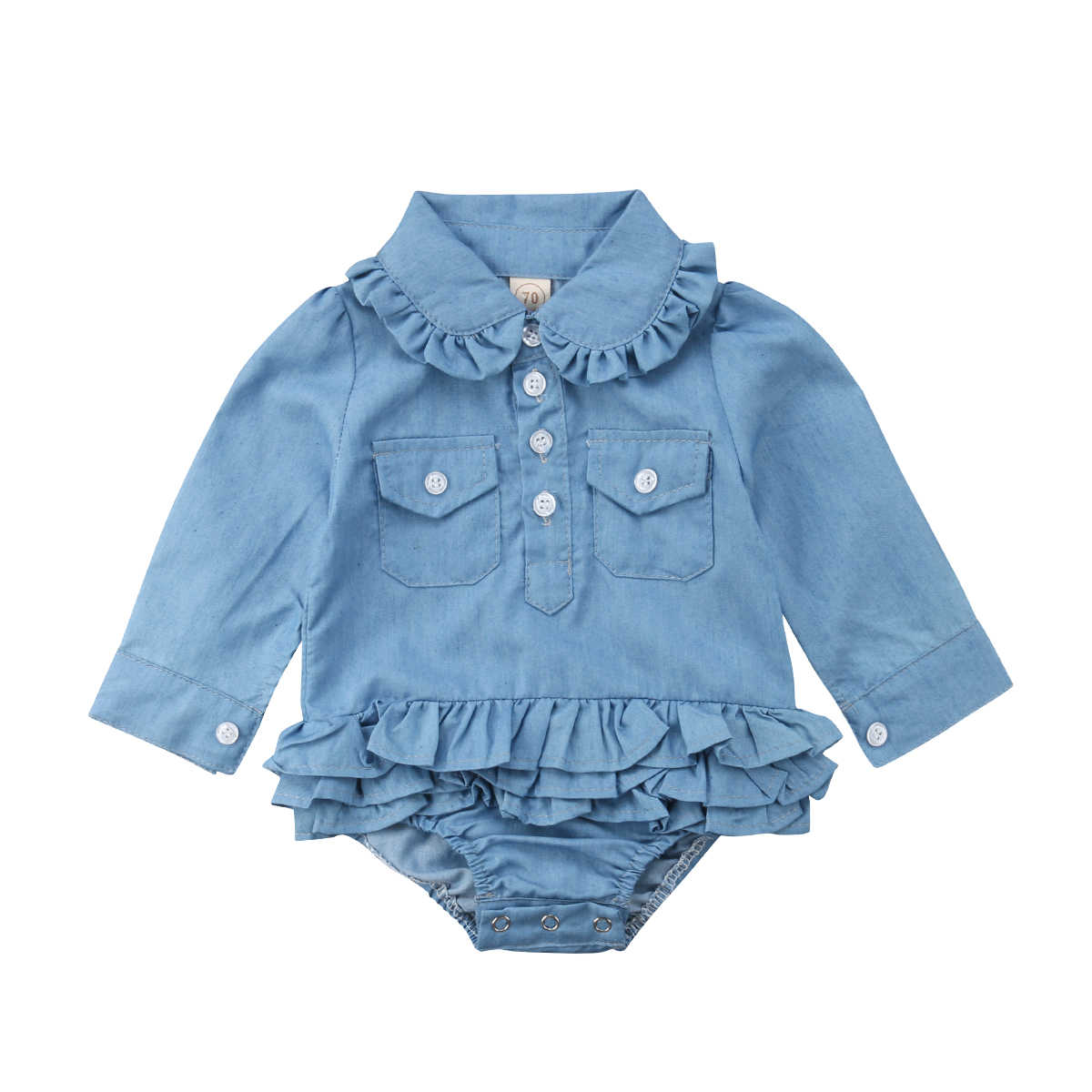 edf193164 Detail Feedback Questions about CANIS Layers Ruffle Rompers Newborn ...
