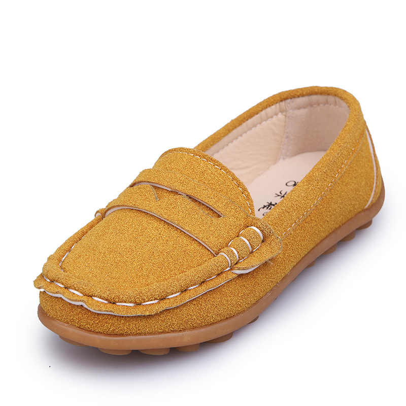 Boys Loafers Children Footwear Toddler Boys Leather Shoes Kids School Shoes Casual Fashion Kids Barefoot Shoes Boy Child Shoe