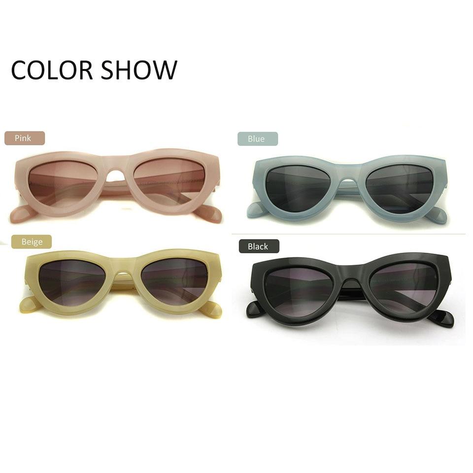 ESNBIE Pink Sunglasses Wanita Cat Eye Vintage Kacamata Matahari Seksi - Aksesori pakaian - Foto 4