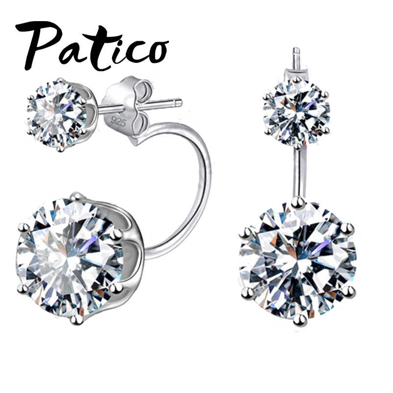 88d7a596931a6 Detail Feedback Questions about PATICO Fashion Earing Big Cubic ...