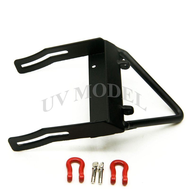Xtra Speed VR Steel Bumper Winch Mount Shackles Axial SCX10 CC01 F350 D90 RC4WD High Quality Free Shipping
