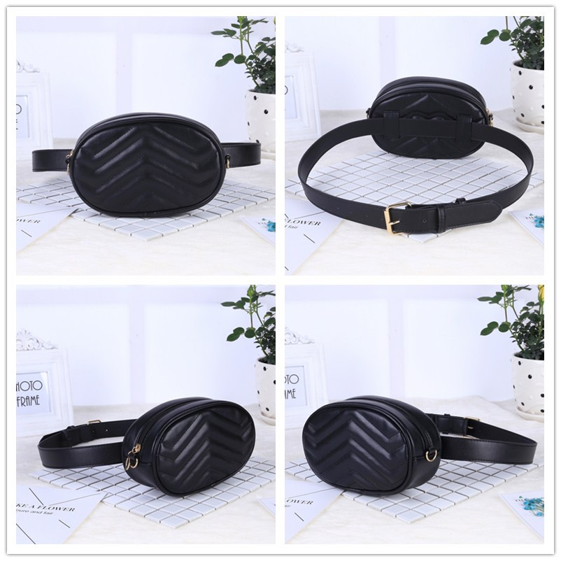 a1298f43c4d241 2019 New Bags for Women Pack Waist Bag Women Round Belt Bag Luxury Brand