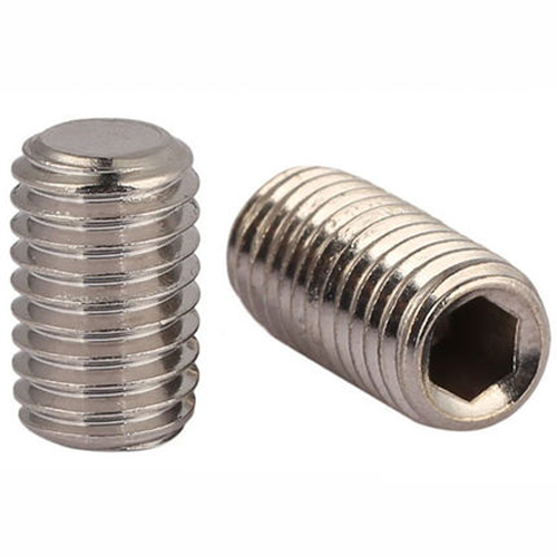 10PCS M10 stainless steel allen flat end set screws grubs