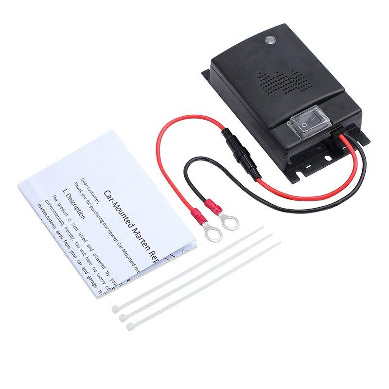 Motor Frequenz Umwandlung Nagetier Pest Tier Auto Abweisend Fahrzeug Ultraschall Controller Maus