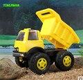 Happyxuan miúdos bonitos dos desenhos animados inércia dumper caminhão de areia brinquedo de plástico 27*20*19 centímetros de água e areia play diversão ao ar livre para crianças presente
