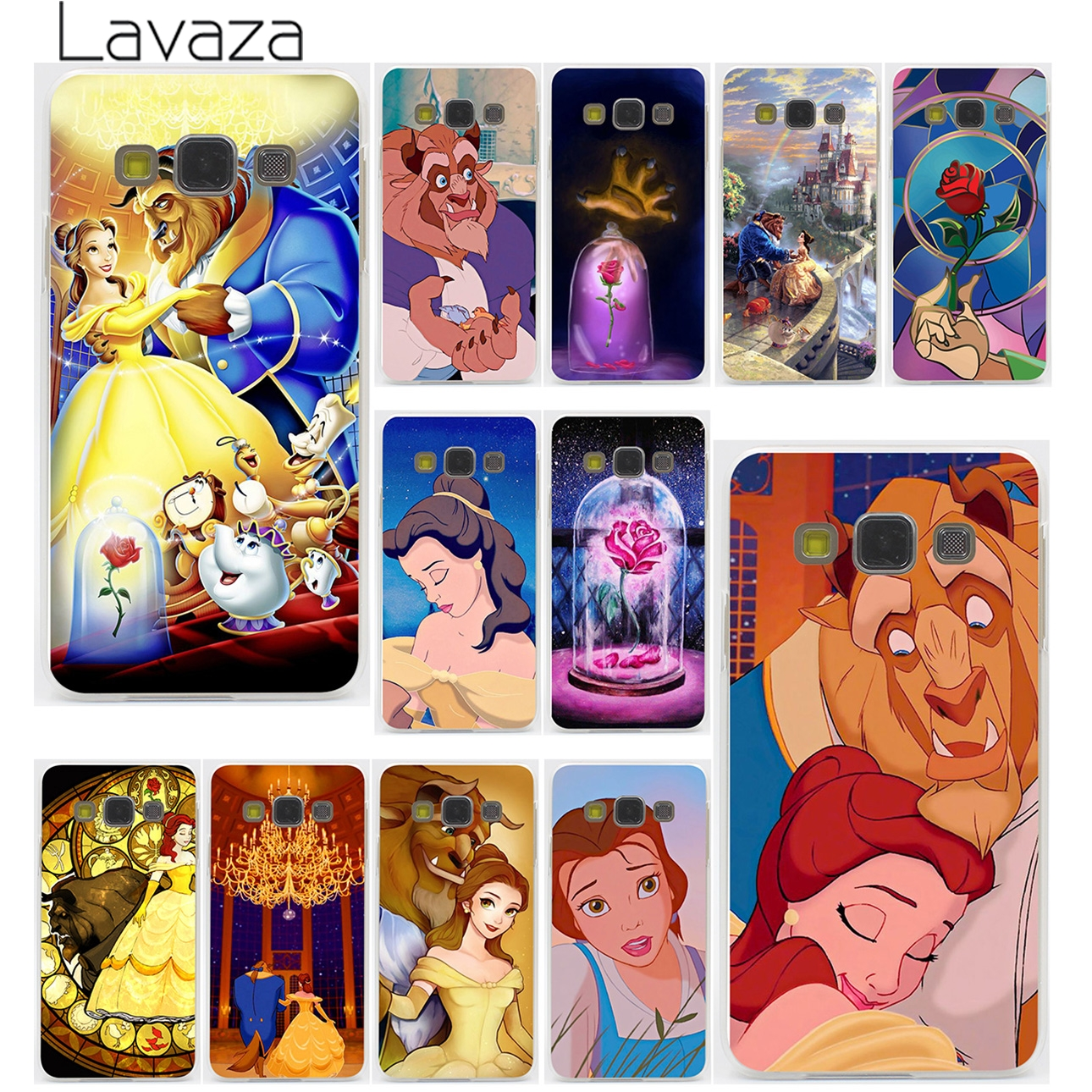 Beauty And The Beast Hard Case for Galaxy S3 S4 S5 & Mini S6 S7 Edge S6 S8 Edge Plus