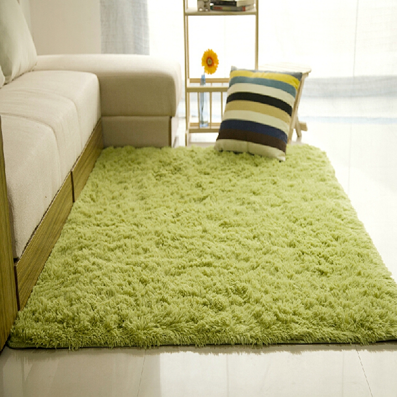 New Long Plush Slip Resistant Soft Mat For Room Modern