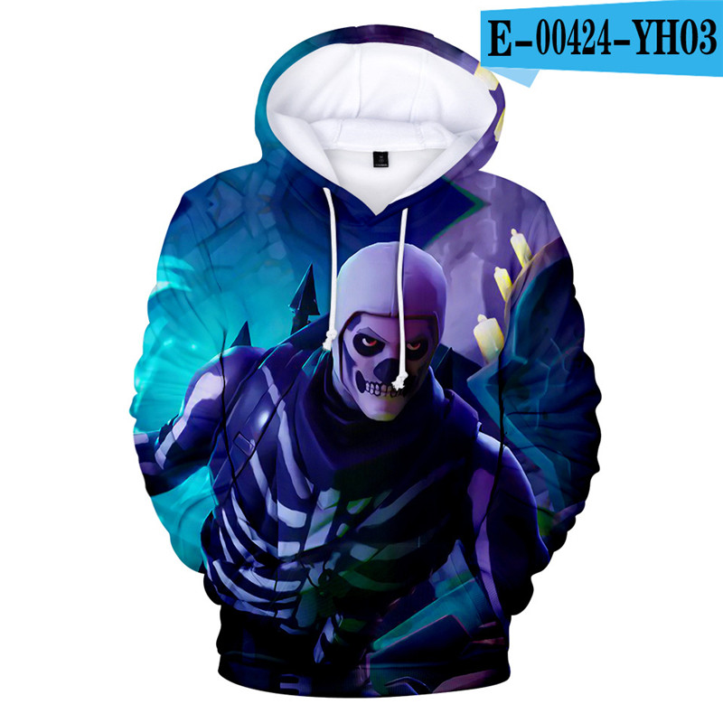 3D Print Hoodie Fortnited Girls Moletons 3D Print Children Clothing Fortnight 2019 Popular Clothes Kid Clothings Streetwear Price $19.98