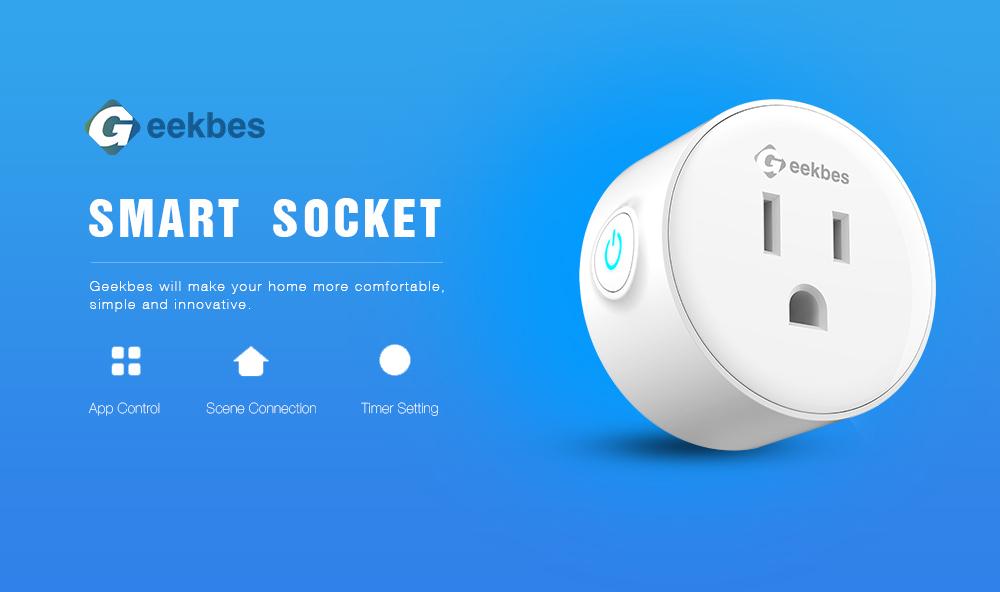 Geekbes Smart Wifi Socket PK Xiaomi Socket (1)