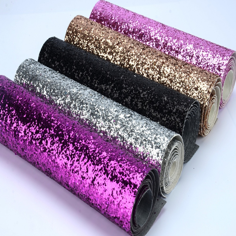 25*138cm Wallpaper Roll Colorful Glitter Wallcovering Home Decor,High Quality Solid Color Sparkly Living Room Wallpaper image