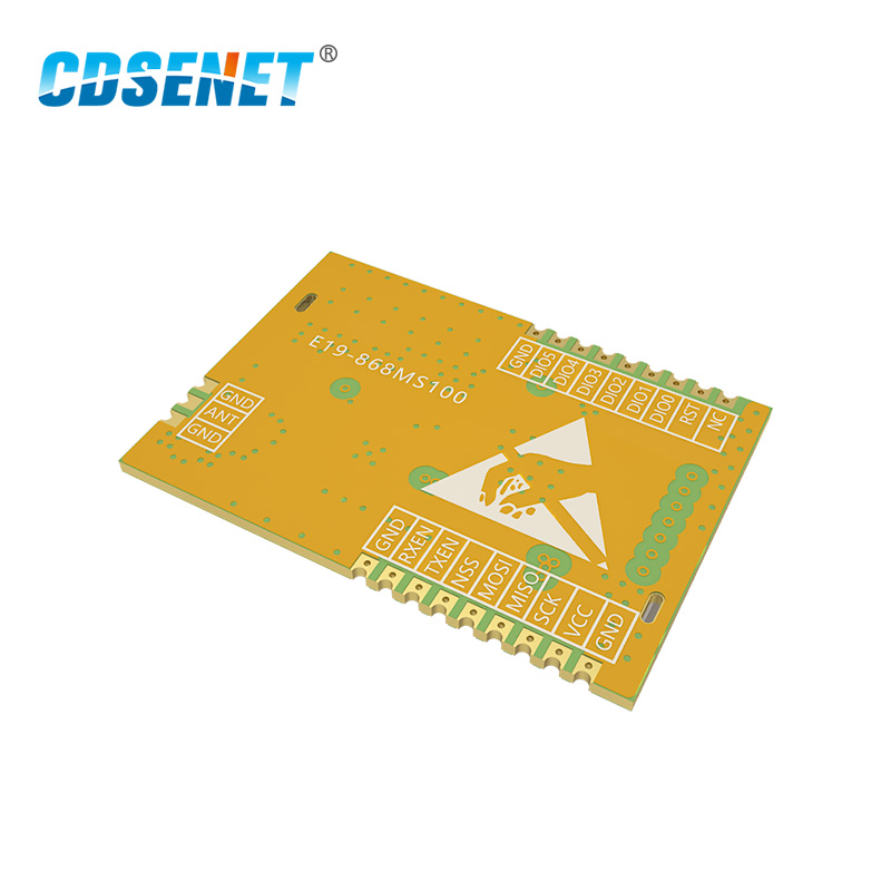 Image 5 - LoRa 868 MHz SX1276 SX1278 Transceiver Wireless rf Module 100mW CDSENET E19 868M20S Long Range SMD 868MHz Transmitter Receiver-in Fixed Wireless Terminals from Cellphones & Telecommunications