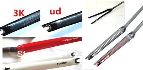 Full carbon fiber road bike fork carbon fibre forks carbon fork road bike forks 700 c