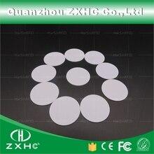 (10 個) ラウンド形状 25 ミリメートル NFC タグ Ntag216 888 バイトプラスチック PVC コイン使用、 IOS とすべての Nfc 携帯電話