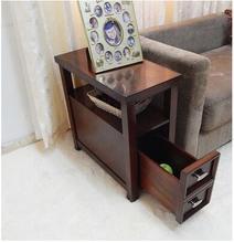 American sofa a few corners . modern minimalist small coffee table side cabinets cabinets living room handrail cabinet phone