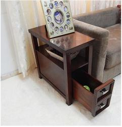 Amerykańska sofa kilka rogów. Nowoczesny minimalistyczny mały stolik kawowy szafki boczne szafki salon poręcz szafka telefon