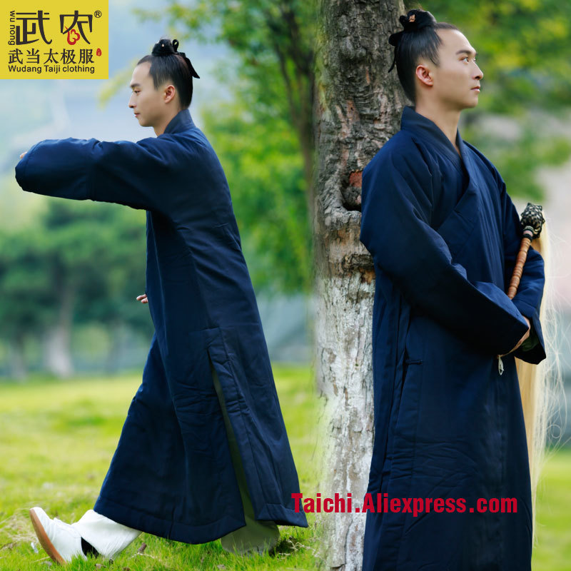 Wu Nong Wudang Taoism Taoist Robe Road Clothing Clothing Dress Robes Uniforms Winter Coat Thickening Practice