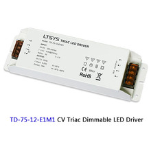 AC110 220V to DC12V 24V 36W 50W 75W 150W Triac Dimming Driver power Supply,0-10V/1-10V Driver,for led strip light