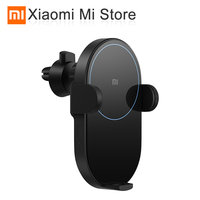 Xiaomi Mi Wireless Car Charger 20W Max Qi Car Wireless Charger with Intelligent Infrared Sensor Fast Charging Car Phone Holder