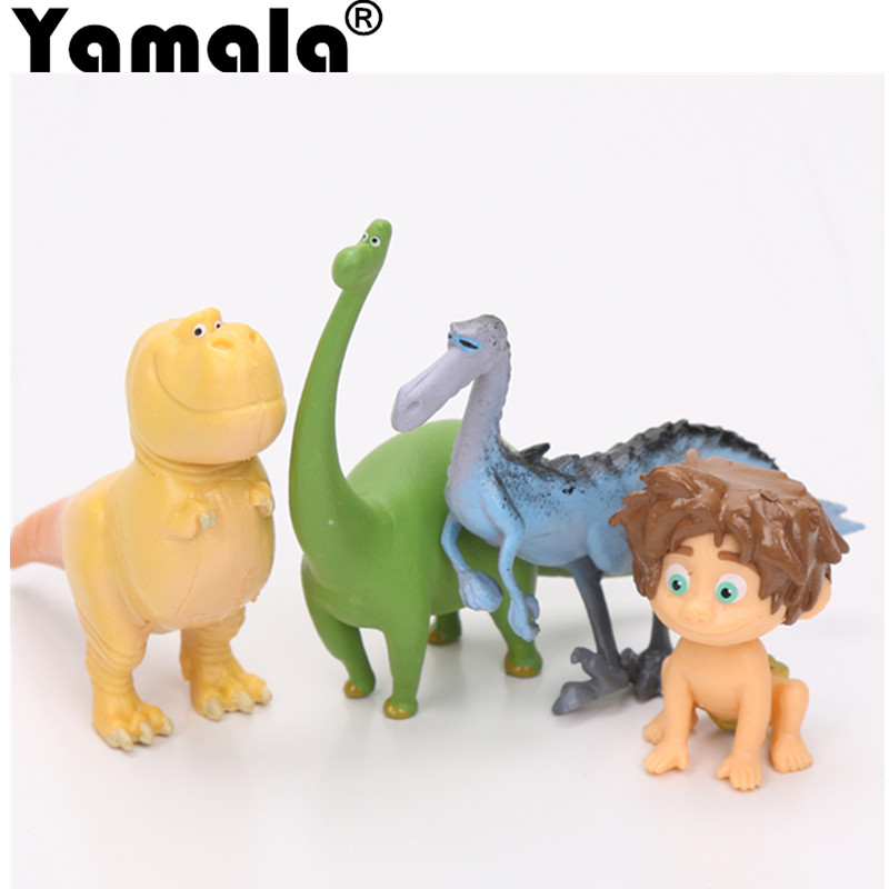 [Yamala] 12pcs/lot The Good Dinosaur Action Figure Toy 2.5-7cm PVC Cartoon Figure Toys For Children Anime Brinqudoes anime cartoon the good dinosaur arlo spot pvc action figure cliff forrest ivy dolls for children kids gifts 6pcs set