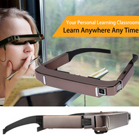 VR 3D Virtual Reality Glasses Smart Android WiFi Glasses Headset Wide Screen Private Theater Camera Bluetooth Media Player