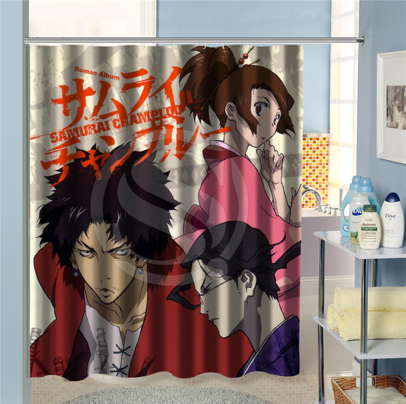 New Arrive Custom Shower Curtain Japanese anime bathroom Personalized Home  Decoration waterproof various sizes SQ0620. Anime Bathroom Sets   fitness4hire com