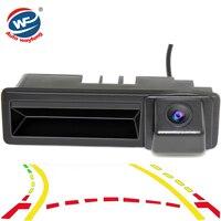 CCD Dynamic Trajectory Trunk handle Rear Camera For Cayenne Audi A4 A4L A6 A6L A7 A5 Q7 Q5 Q3 RS5 RS6 A3 A8L Mirror Rearview Cam