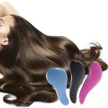 Mini Magic Handle Tangle Detangling Comb Shower Hair Brush Salon Styling Tamer Tool Home Professional Use For Salon hot