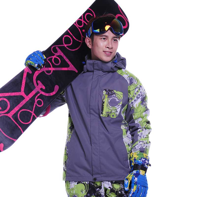 Здесь можно купить   Dropshipping M-3XL winter jacket men double layer waterproof windproof warm ski snow Hooded Jacket Coat overcoat men outwear Спорт и развлечения