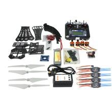 JMT F14893-H DIY RC Drone Quadrocopter RTF Con X4M380L Kit Marco QQ Súper FS-i6 TX
