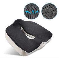 Coccyx Orthopedic Memory Foam Seat Cushion for Chair Car Office Home Bottom Seats Massage Cushion for shaping sexy buttocks