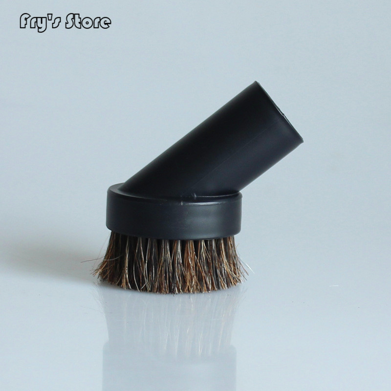 Hot 32mm Mixed Horse Hair Round Cleaning Brush Head Vacuum Cleaner Accessories Tool