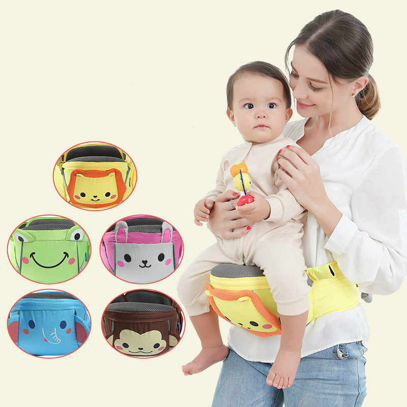 Ergonomic Top Baby Carrier Waist Stool Walkers Baby Sling Hold Waist Belt Backpack Hipseat Belt Kids Infant Hip Seat
