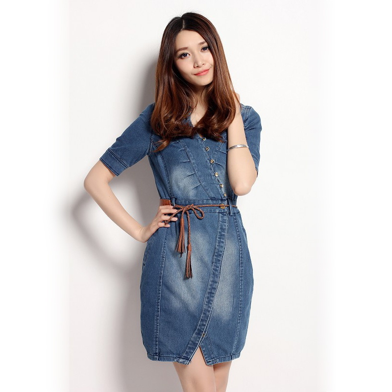 Are you looking for denim dresses cheap online? kcyoo6565.gq offers the latest high quality sexy denim dresses for women at great prices. Free shipping world wide.