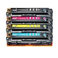 BLÜTE Kompatibel CB540A CB543a 540 125A tonerkartusche für HP Color laserJet CP1514n CP1515n CP1516n CP1517ni CP1518ni CP1519-in Toner-Patronen aus Computer und Büro bei