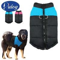 Dog Clothes For Large Big Dog Winter Coat Jacket Dogs Vest Pet Clothing Winterproof XXL 7XL