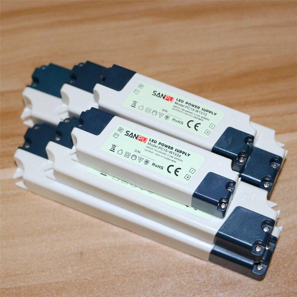 Lighting Transformers 15W 35W 60W Switch Power Supply Adapter AC100V-240V 110V 220V To DC12V 24V LED Driver For LED Strip Light