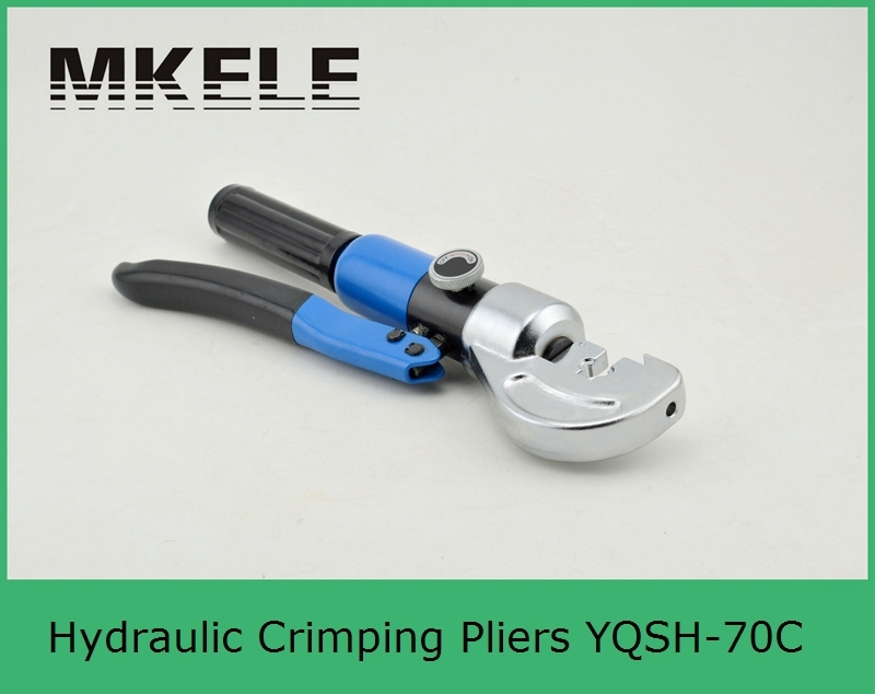 High Quality MK-YQSH-70C Hydraulic Crimper,wire Crimper,hydraulic Crimping Tools Clamp China high quality mk xlj d 300 mechanical cable cutter large cord cordless clamp china