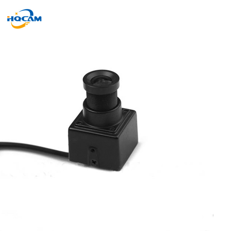 HQCAM CCD 700TVL high resolution UAV FPV camera mini RC airplanes helicopter Size 22x22mm Mini Camera Industrial camera Aerial aomway 1200tvl 960p ccd hd mini camera 2 8mm lens for fpv