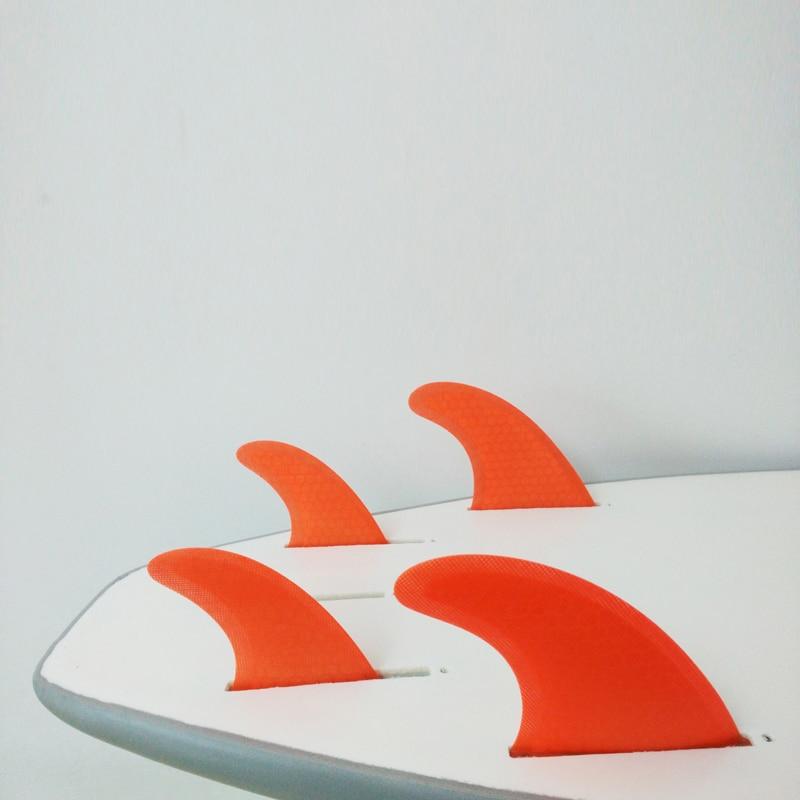 FCS Fins G5 + GL Honeycomb Quilhas Surfboard Fins Surf Thruster - Су спорт түрлері - фото 5