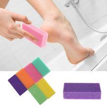 1 pedicura/cuidado de los pies piedra pómez para el pie herramientas de pedicura para pies frotar la piel muerta de sus pies hace los pies suaves y cómodos ~