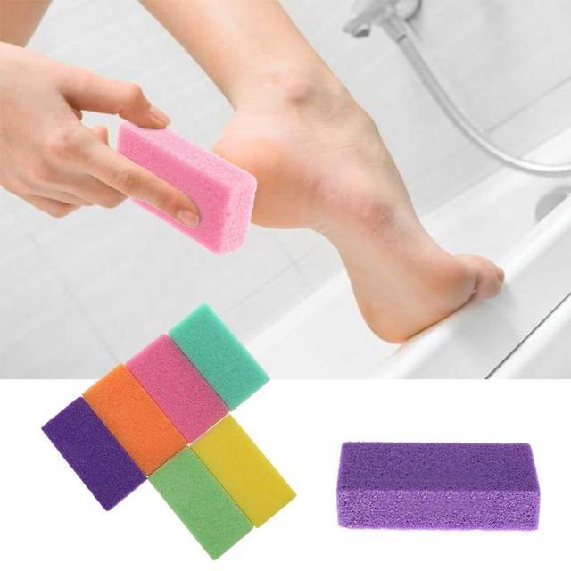 1pc pédicure/soins des pieds pied pierre ponce pédicure outils pour pied frotter la peau morte de vos pieds rendre les pieds lisses et confortables ~