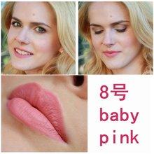 Sexy 16 Colors Waterproof Long Lasting Matte Lip Gloss Lipstick Beauty Makeup Cosmetic TF