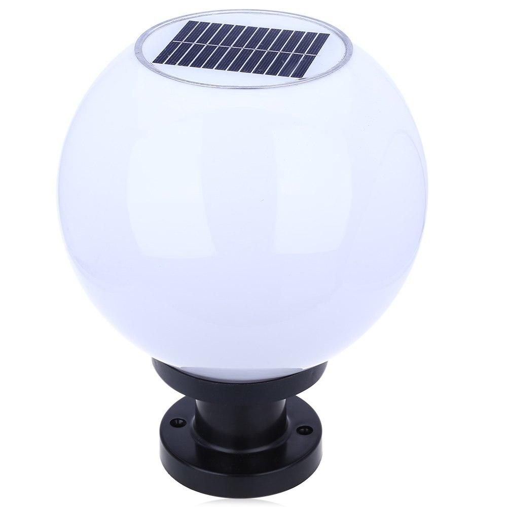 High Brightness Outdoor Lighting 200MM IP65 Solar Powered LED Ball Lamp Water