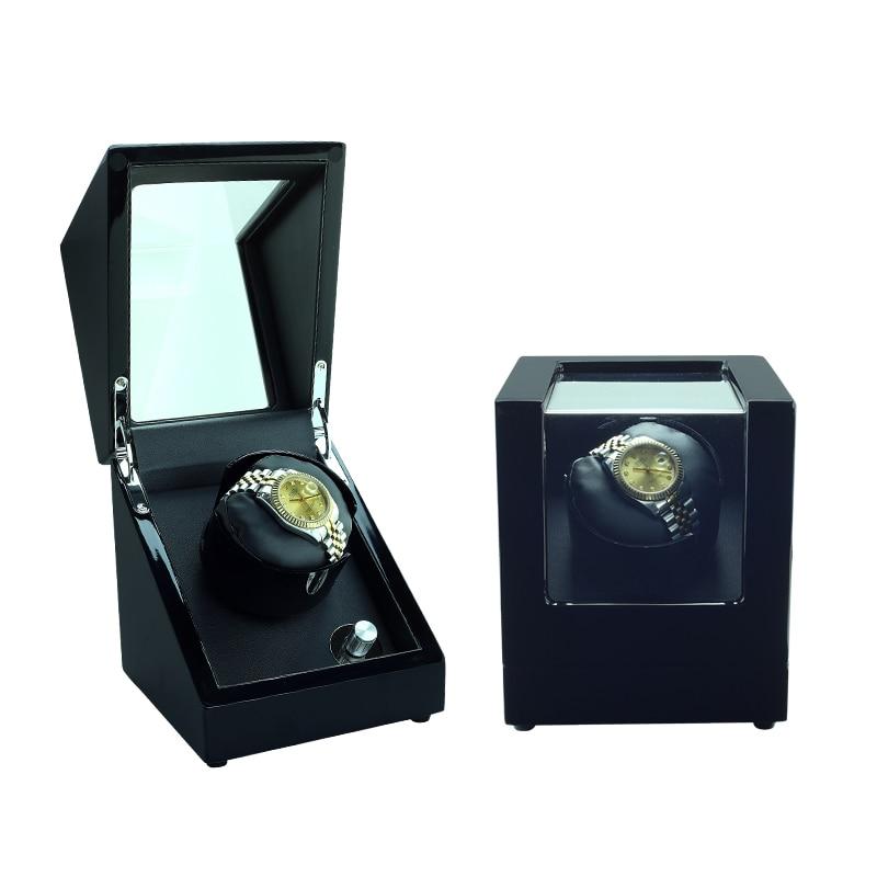 Watch Winder, LT Rotación automática de madera 1 + 0 Caja de - Accesorios para relojes
