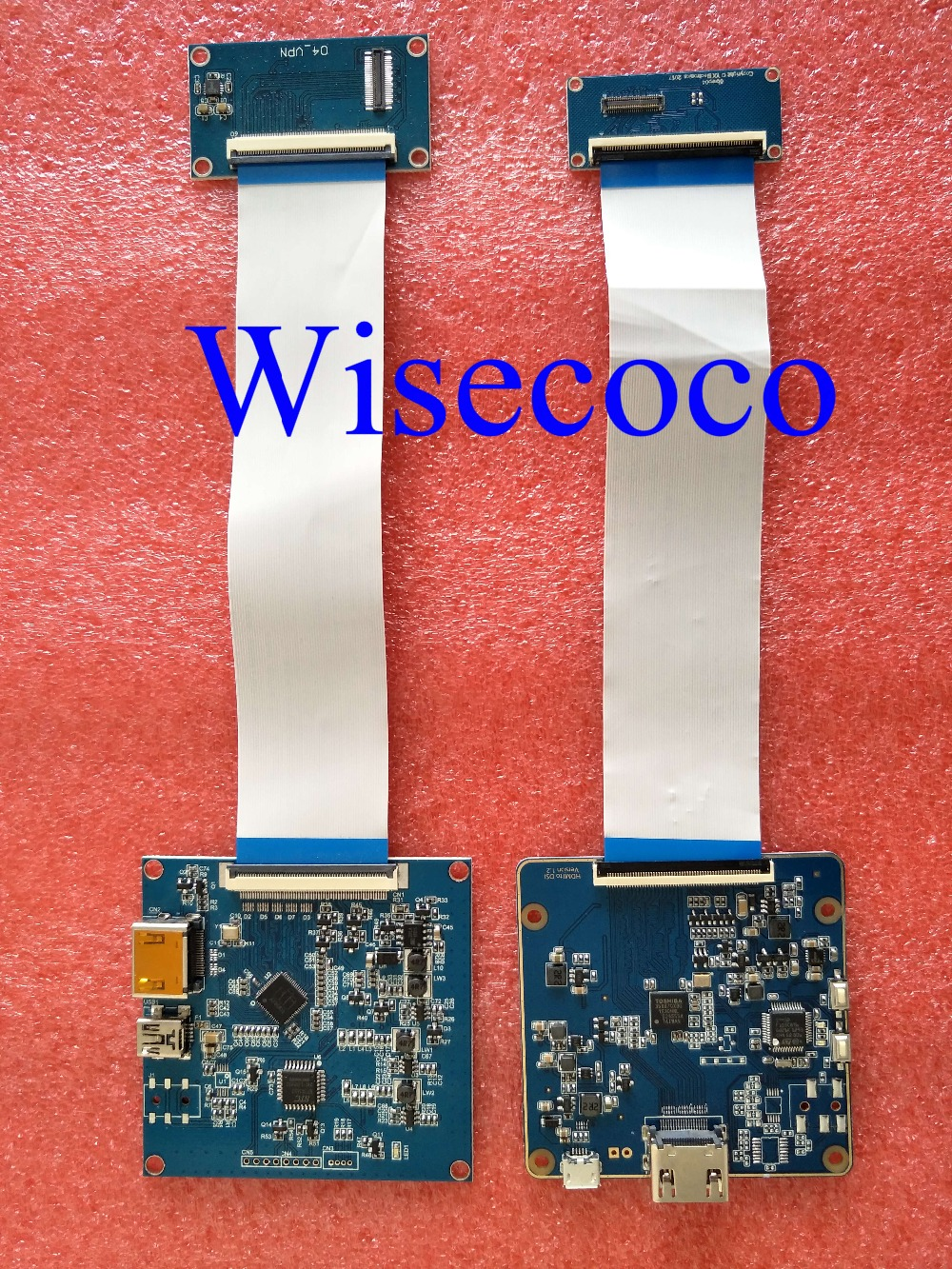 HDMI a MIPI Placa de controlador para DLP SLA 3D impresora KLD 1260 1268 3D impresora disco de wanhao d7 LS055R1SX03 LS055R1SX04