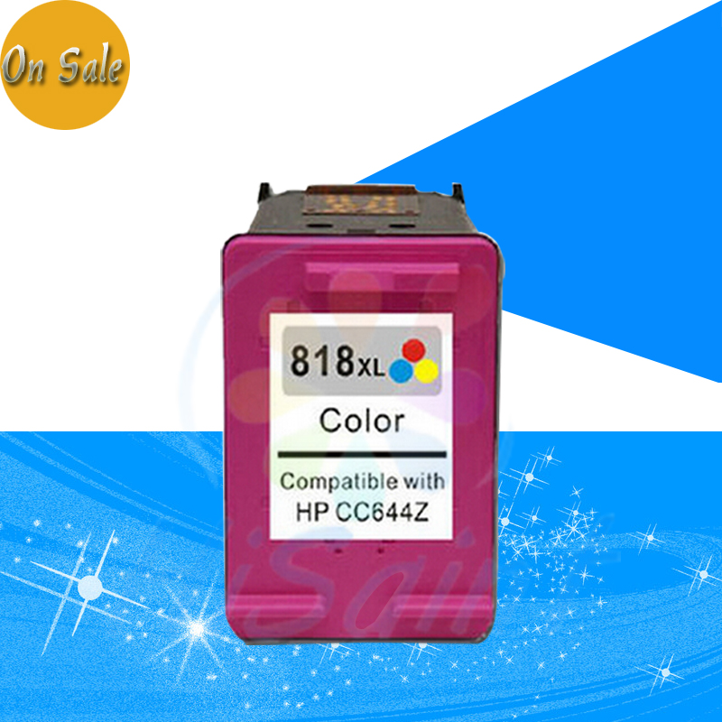 Hot sale 1 Pack color for HP 818XL HP818XL HP 818 Ink Cartridges for deskjet D1668/D2568/D2668/F4228/F4788/F2418 inkjet printer 7 inch love charm a76 a77 still in iraq n77 9 inch lcd display neiping innolux 20000938 30