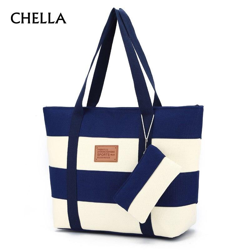 Women Canvas Beach Bags Fashion Large Handbags Female Shoulder Bag Ladies Shopping Messenger Tote Handbag Designer Bolsa SS0337